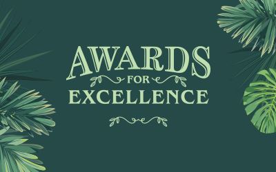 Awards for Excellence - 2018 Winners