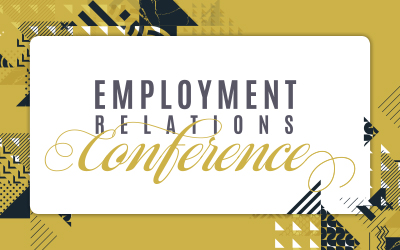 Employment Relations Conference - 8 August 2019