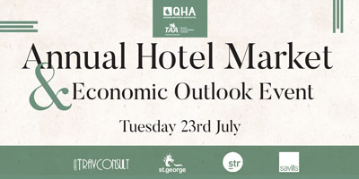 Annual Hotel Market & Economic Outlook Event - 23 July 2019