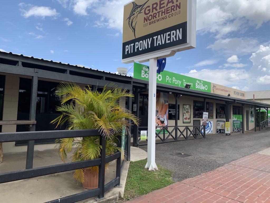 Pit Pony Tavern entrance